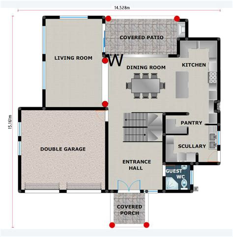 House Plans, Building Plans And Free House Plans, Floor