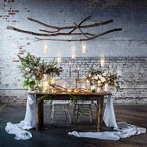 Sweetheart Table Inspiration - Green Wedding Shoes