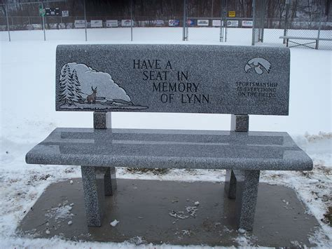 Memorial Benches For Cemeteries  Memorial Benches