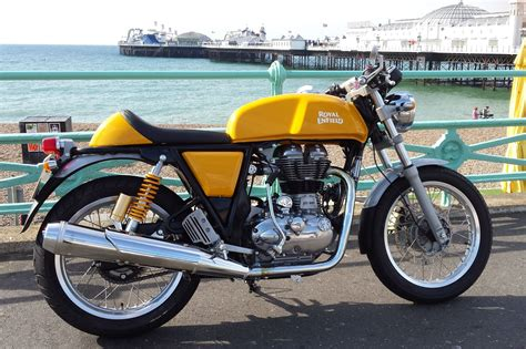 Royal Enfield Continental Gt Image by Road Test Royal Enfield Continental Gt Visordown