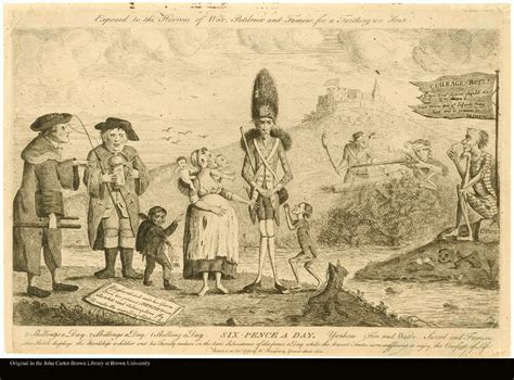 The Gallery For --> Quartering Acts Political Cartoon