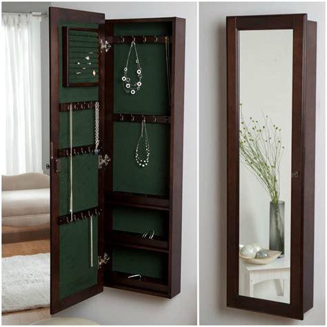 locking jewelry armoire 25 beautiful locking jewelry armoires zen merchandiser