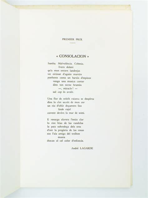 los trobadors anthologie des grands prix de poesie de la