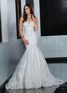 davinci 50203 lace wedding dress in ivory or white With da vinci wedding dress