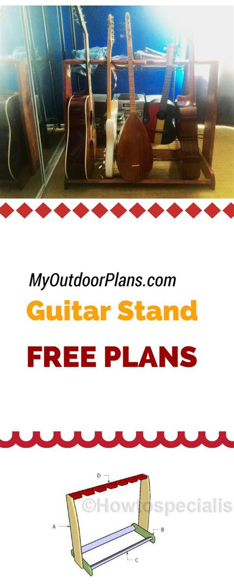 build  multi guitar stand  plans