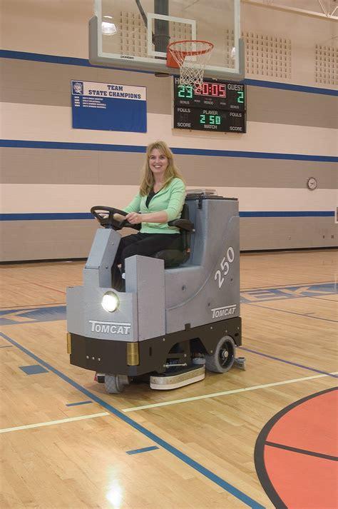 floor scrubber dryer gtx rider commercial floor cleaning
