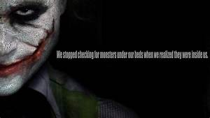 Batman Joker The Dark Knight Heath Ledger Quotes ...
