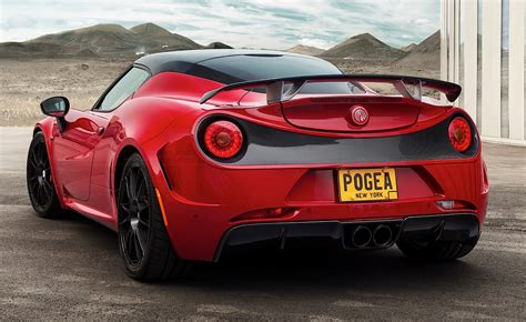 Alfa Romeo 4c By Pogea Racing Has 313 Hp And A Carbon Wing