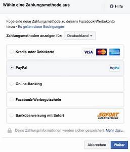 Facebook Rechnung : facebook werbung schalten die ultimative xxl anleitung ~ Themetempest.com Abrechnung