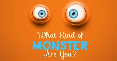 What Kind Of Monster Are You?  Quiz Quizonycom