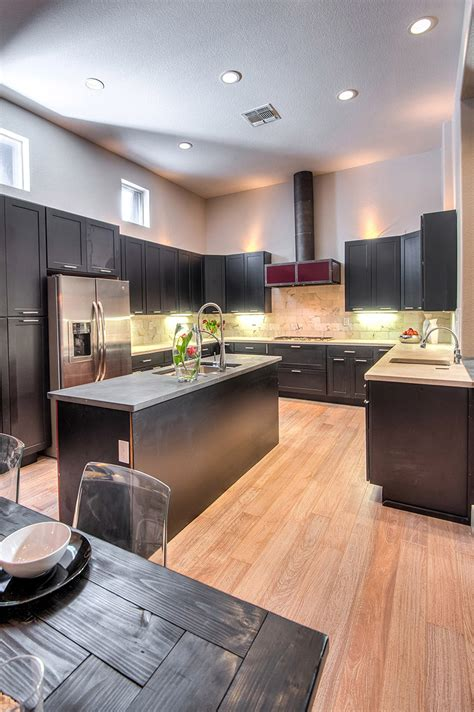 paint the kitchen cabinets shaker painted black cabinets kitchen design 3957