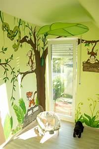 Kinderzimmer Wandgestaltung Ideen : dschungel kinderzimmer diy mission wohn t raum ~ Sanjose-hotels-ca.com Haus und Dekorationen