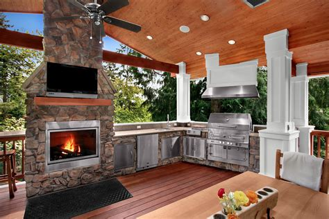 outdoor kitchens  houzzcom homes