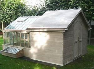 Construire Une Serre Pas Cher : fabrication de serre de jardin en bois carpentras 84 ~ Premium-room.com Idées de Décoration