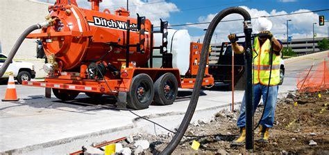 fx vacuum excavator ditch witch
