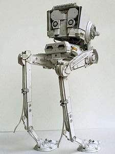 Star Wars AT ST Paper Craft Gadgetsin