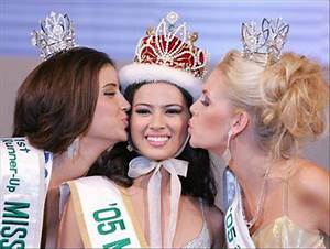 People's Daily Online -- Philippine beauty awarded '05 ...