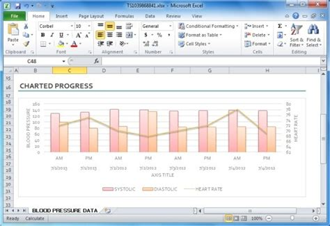 excel graph templates blood pressure tracker template for excel