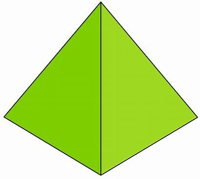 Pyramid Solid Clipart Geometry Figures Rectangular Prism