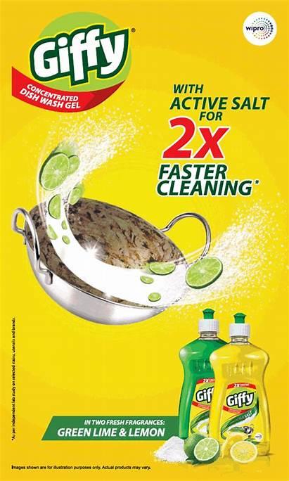 Dish Wash Ad Cleaning India Giffy Mumbai