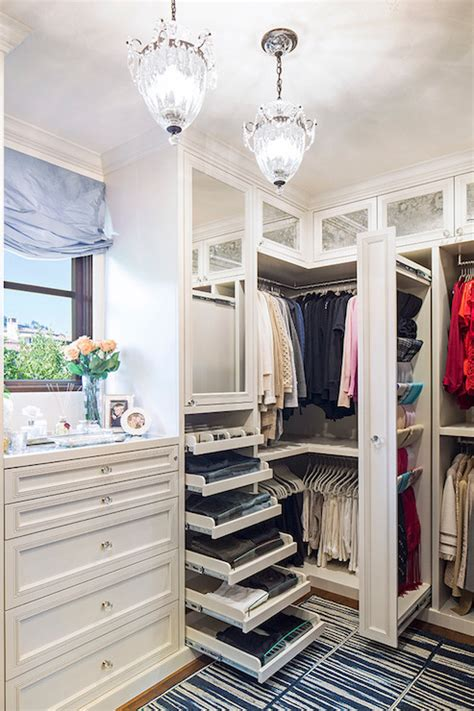 Dresser Scarf Sets by Pull Out Drawers Transitional Closet La Closet Design
