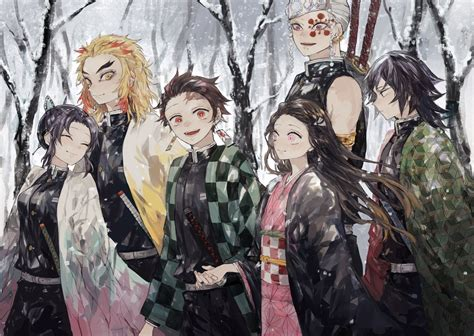demon slayer kimetsu  yaiba  ultra hd wallpaper