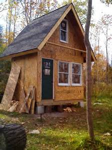 10x10 Shed Plans With Loft by Small Rustic Cabin Plans Homesfeed