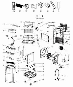 Delonghi Paccn120e Parts List And Diagram