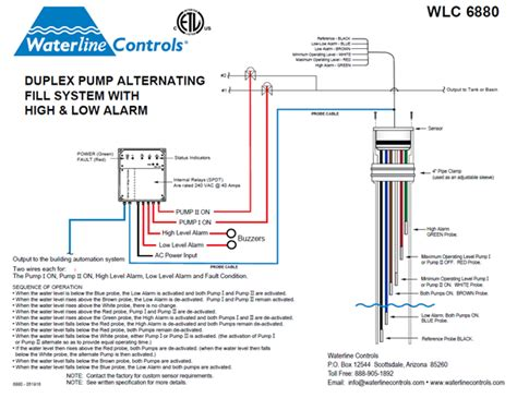 Wlc High Low Alarm Dual Pump Alternating Controller