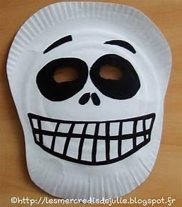 Masque Halloween A Fabriquer : les mercredis de julie halloween masque squelette avec ~ Melissatoandfro.com Idées de Décoration