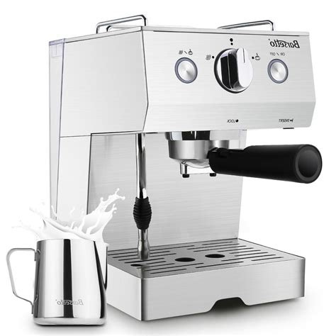 The cheapest battery operated frother, however, can take up to 90 seconds just to froth. Barsetto Espresso Machine 15 Bar with Milk Frother
