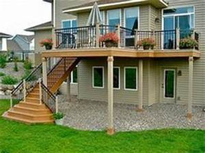 1000+ images about Deck on Pinterest Two story deck
