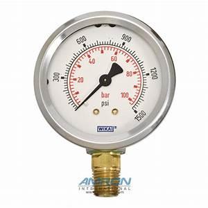 Model 212 53 Bourdon Tube Dry Case Pressure Gauge 2 5 In
