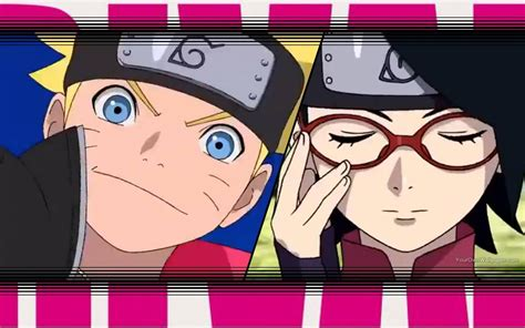 Boruto And Sarada Rival Wallpaper 2 By Weissdrum On Deviantart