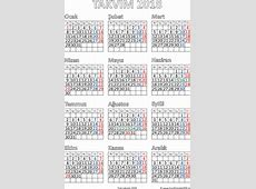 Takvim 2018 Printable 2018 calendar Free Download USA