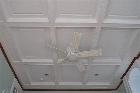 Decorative Crown Molding by Wainscoting America Customer Coffered Ceilings