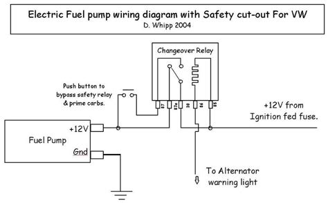 Boat Electric Fuel Pump Circuit Hot Idle Fluctuates