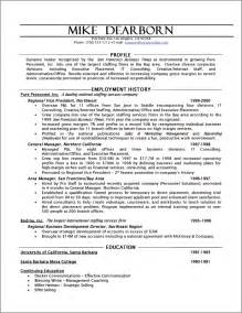 resume functional executive format executive resume sle powerful executive resumes sle executive resume