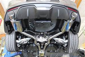 2015+ Mustang EcoBoost 3″ Cat-Back Exhaust System – Full Race