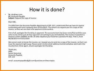 5 request letter for invoice copy free invoice letter for How to write an email requesting an invoice