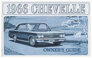 Owners Manual  1966 Chevelle