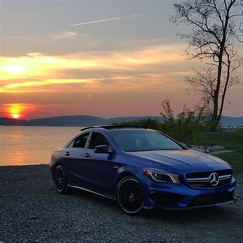 The Perfect Setting For This Beautiful Cla 45 Amg Coupé