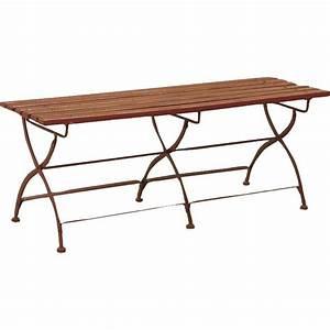 Table De Jardin Bois Et Metal : table de jardin bois et metal menuiserie ~ Teatrodelosmanantiales.com Idées de Décoration