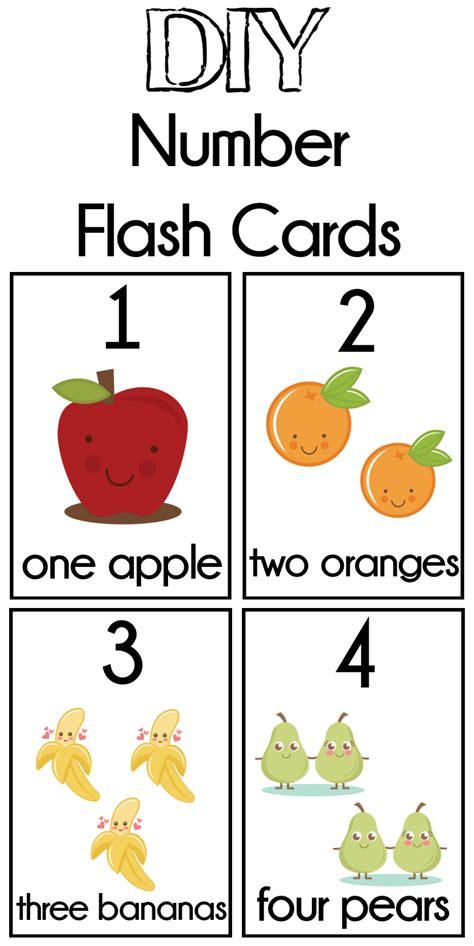 diy number flash cards free printable couponing 877 | DIY Number Flash Cards
