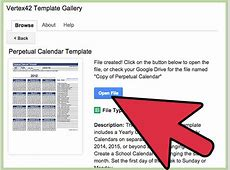 How to Create a Calendar in Google Docs with Pictures