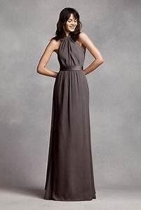 20 wonderful halter bridesmaid dress ideas weddingomania With fall maxi dress for wedding