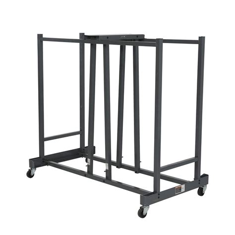 storage for folding chairs and tables stainless steel folding chair storage cart with wheels and