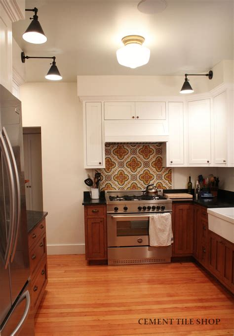 kitchen backsplash kitchen backsplash cement tile shop