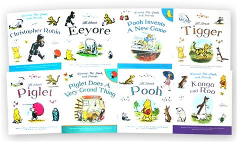 Up To 77% Off On Winnie-the-pooh Book Set (8-pk