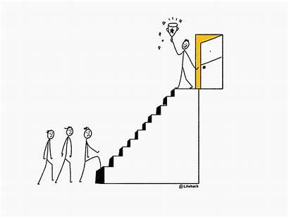 Ladder Corporate Career Moving Climb Ceo Secret